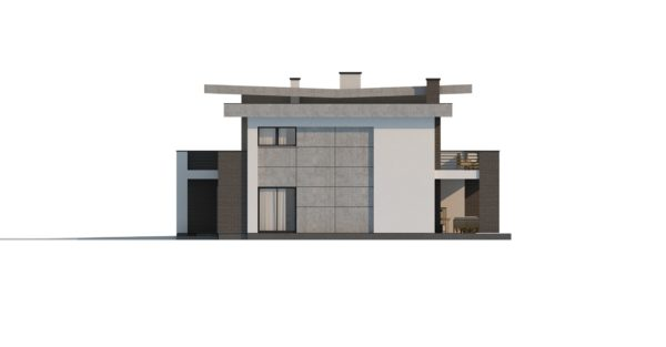 проект каркасно монолитного дома SDn 444 9