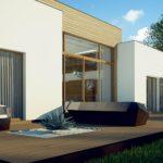 проект каркасно-монолитного дома SDn-447 5