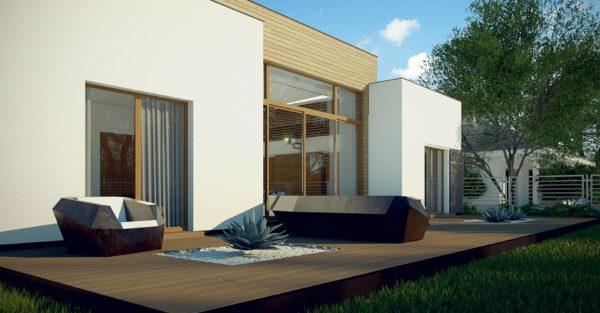 проект каркасно монолитного дома SDn 447 5