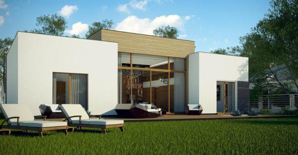 проект каркасно монолитного дома SDn 447 6