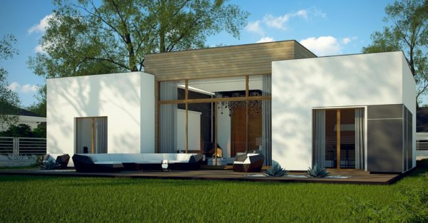 проект каркасно монолитного дома SDn 447 7