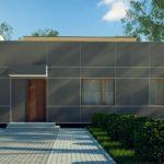 проект каркасно-монолитного дома SDn-447 8