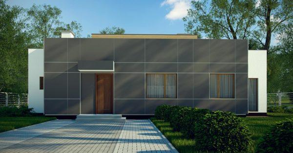 проект каркасно монолитного дома SDn 447 8