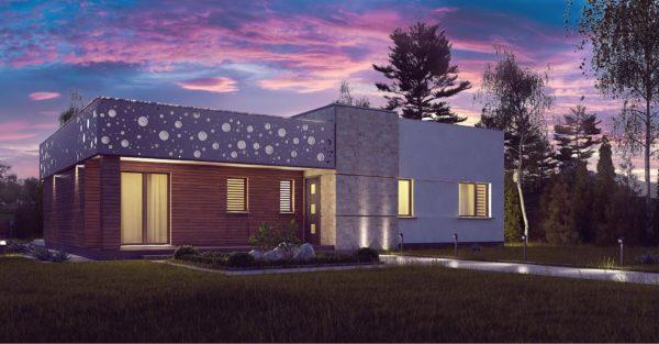 проект каркасно монолитного дома SDn 451 1