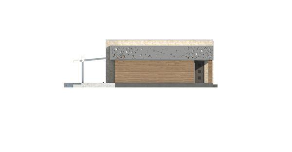 проект каркасно монолитного дома SDn 451 3
