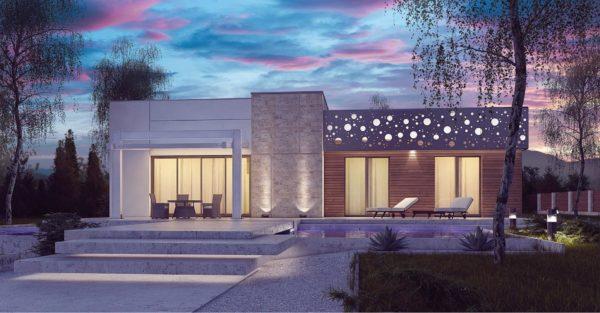 проект каркасно монолитного дома SDn 451 5