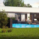 проект каркасно-монолитного дома SDn-453 1