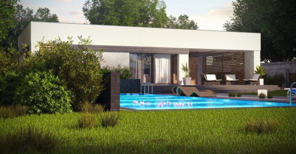 проект каркасно монолитного дома SDn 453 1