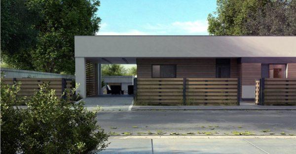 проект каркасно монолитного дома SDn 453 4