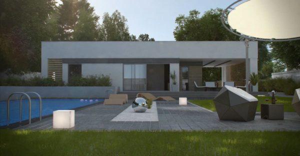 проект каркасно монолитного дома SDn 453 5