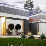 проект каркасно-монолитного дома SDn-454 1
