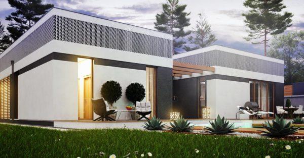 проект каркасно монолитного дома SDn 454 1