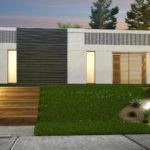 проект каркасно-монолитного дома SDn-454 2