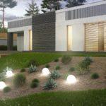 проект каркасно-монолитного дома SDn-454 4