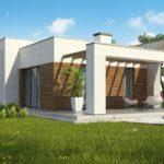 проект каркасно-монолитного дома SDn-462 4