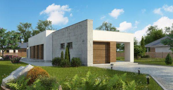 проект каркасно монолитного дома SDn 462 7