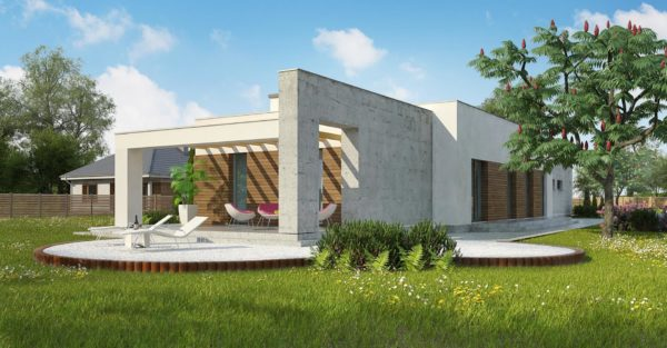 проект каркасно монолитного дома SDn 462 8