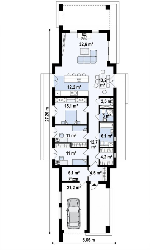 проект каркасно монолитного дома SDn 462 9