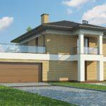 проект каркасно-монолитного дома SDn-466 3