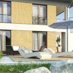 проект каркасно-монолитного дома SDn-466 4