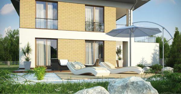 проект каркасно монолитного дома SDn 466 4