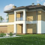 проект каркасно-монолитного дома SDn-466 5