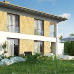 проект каркасно-монолитного дома SDn-466 7