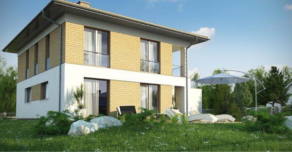 проект каркасно монолитного дома SDn 466 7