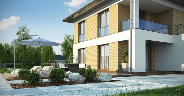 проект каркасно монолитного дома SDn 466 8