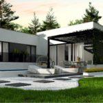 проект каркасно-монолитного дома SDn-468 1