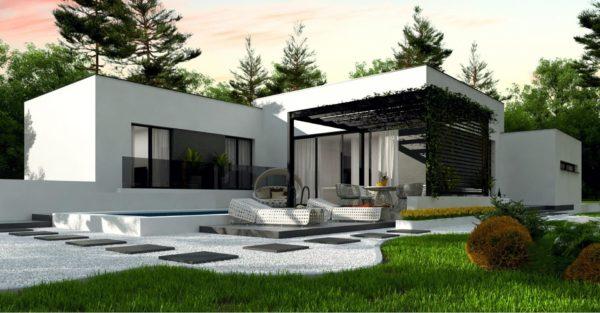 проект каркасно монолитного дома SDn 468 1