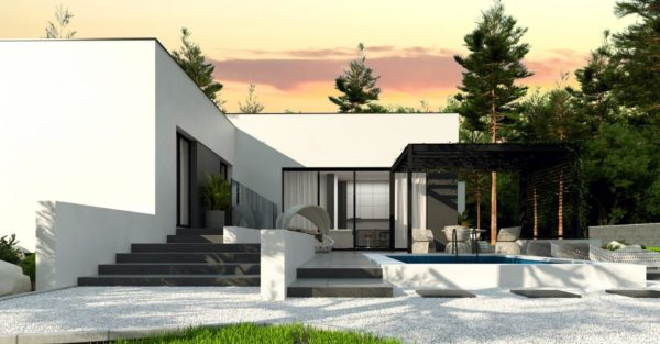 проект каркасно монолитного дома SDn 468 2