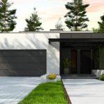 проект каркасно-монолитного дома SDn-468 3