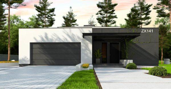 проект каркасно монолитного дома SDn 468 3