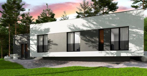 проект каркасно монолитного дома SDn 468 6