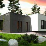 проект каркасно-монолитного дома SDn-468 8