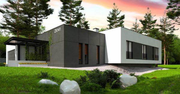 проект каркасно монолитного дома SDn 468 8
