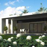 проект каркасно-монолитного дома SDn-470 1