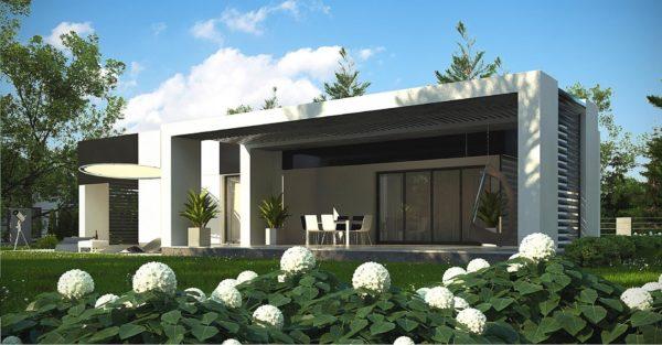проект каркасно монолитного дома SDn 470 1