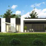 проект каркасно-монолитного дома SDn-470 2