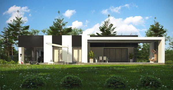 проект каркасно монолитного дома SDn 470 2