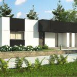 проект каркасно-монолитного дома SDn-470 3