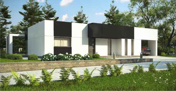 проект каркасно монолитного дома SDn 470 3