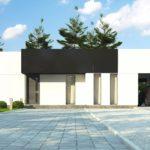 проект каркасно-монолитного дома SDn-470 4