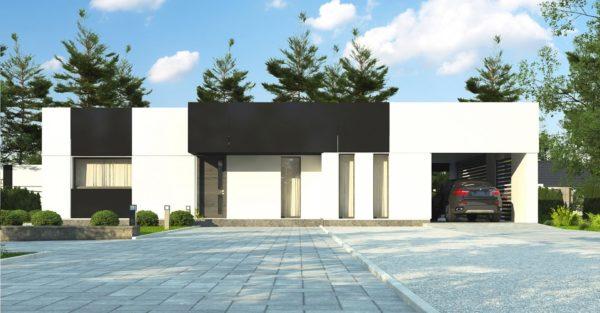 проект каркасно монолитного дома SDn 470 4