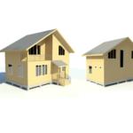 проект каркасного дома SDn-110 3