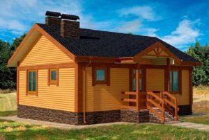 проект каркасного дома SDn 112 2