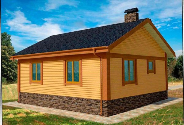 проект каркасного дома SDn 112 5