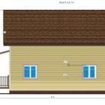 проект каркасного дома SDn-134 4