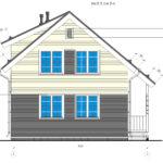 проект каркасного дома SDn-140 6